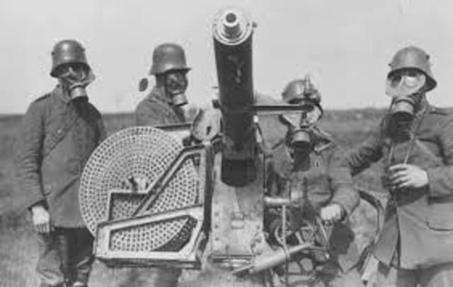 Primeira Guerra Mundial (Início)