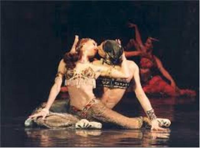 """Shéhérazade"" de los Ballets Russes"