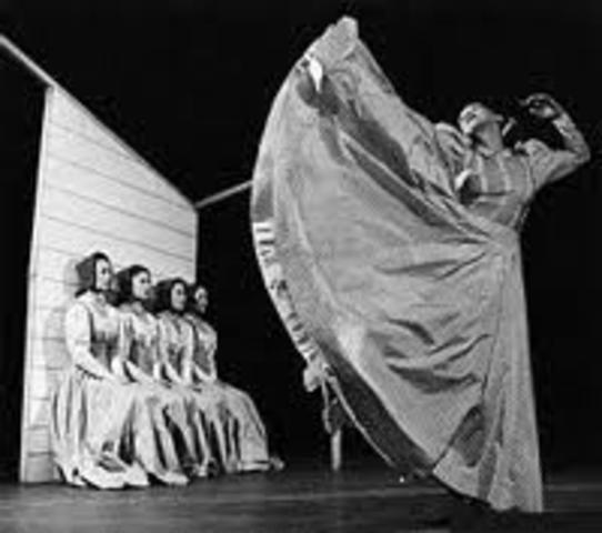 Fundación de la Compañía de Danza Martha Graham
