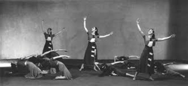 """Steps in the Street"" de Martha Graham"