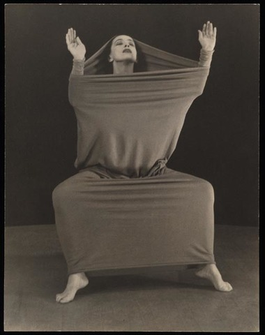 """Lamentation"" de Martha Graham"