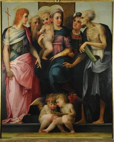 Rosso Fiorentino, Pala dello Spedalingo 2, 1518, tempera su tavolaFirenze, Galleria degli Uffizi