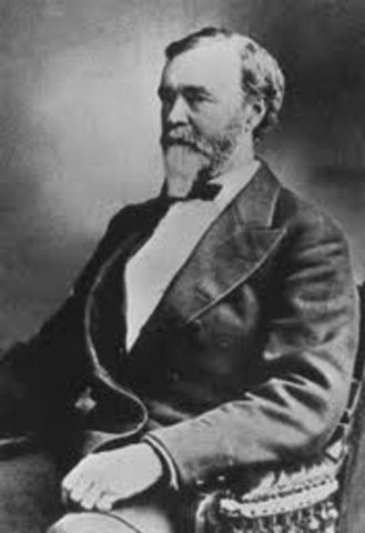 The U.S. Congress created the Colorado Territory. William Gilpin becomes governor.