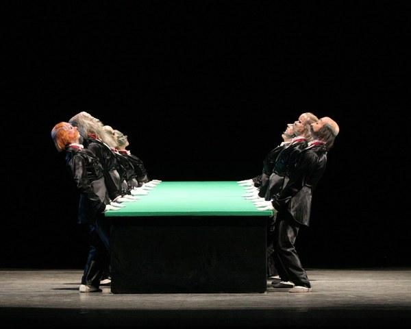 """La mesa verde"" de Kurt Joss"