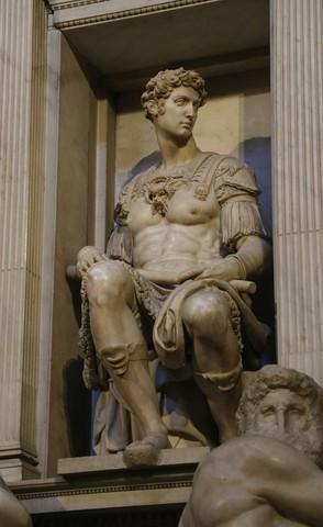 Michelangelo, Tomba di Giuliano duca di Nemours, 1524-34