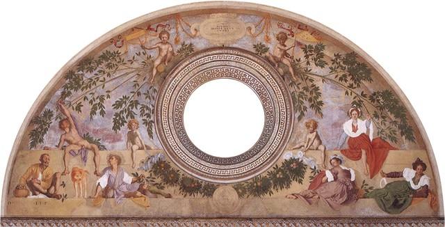 Pontormo, Vertumno e Pomona, villa di Poggio a Caiano, 1519-21