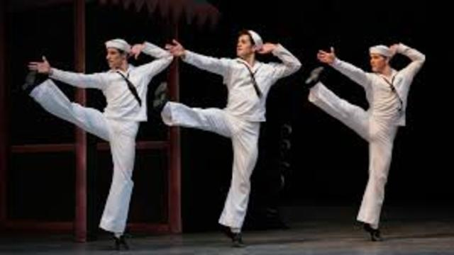 """Fancy Free"" de Jerome Robbins"