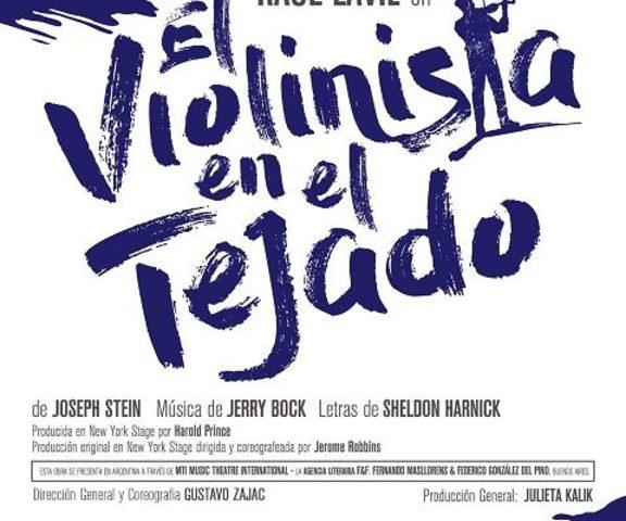 """""""Violinista en el tejado"""" de Jerome Robbins"""
