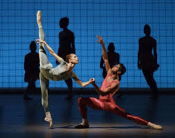 """Glass Pieces"" de Jerome Robbins"