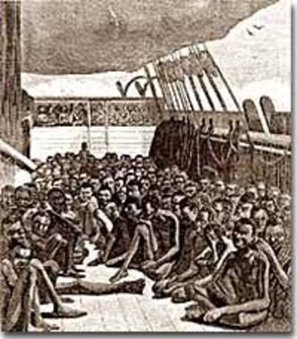 Slavery; The Middle Passage