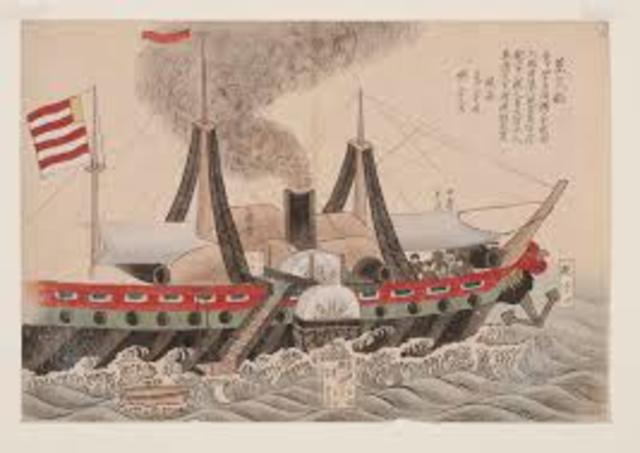 Commodore Perry Opens Trade with Japan