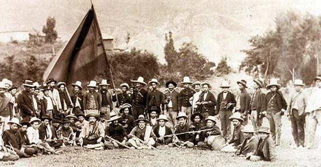 Guerras Civiles - Colombia 1800 - 1900 timeline | Timetoast timelines