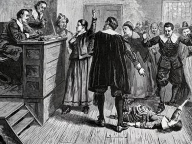 1692. Historia de las brujas de Salem