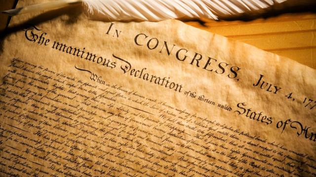 Declaration of independence (July 4th)