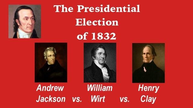 Election of 1832: Bank Veto Speech