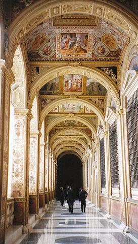 Logge Vaticane, disegno di Raffaello, affr di Giovanni da Udine et al