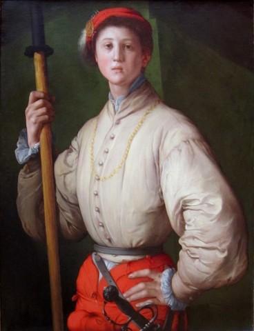 Pontormo, Alabardiere, 1529-30 o 1537, Los Angeles, Getty