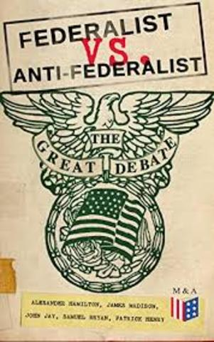 The Great Debate (Federalist V. Anti-Federalist)