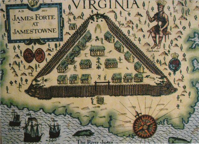 Chesapeake Colonies: Jamestown/Virginia