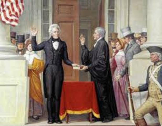Jackson's Inauguration Party