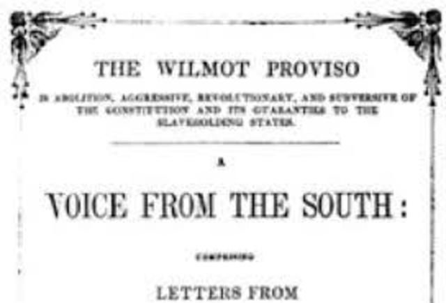 Wilmot Proviso