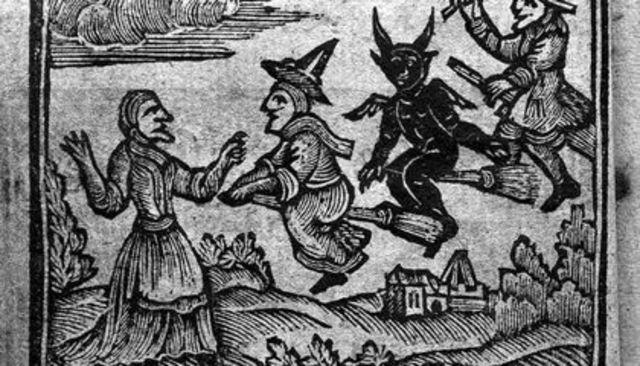 Cause of Salem Witch Trials