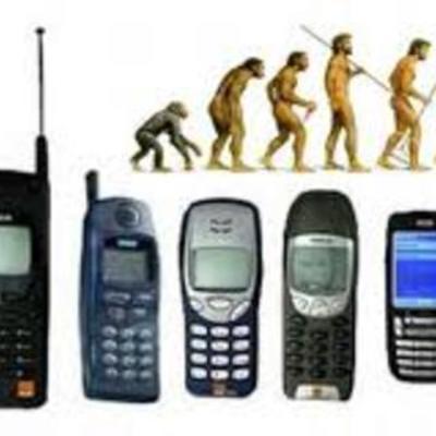 Cell Phone Evolution timeline