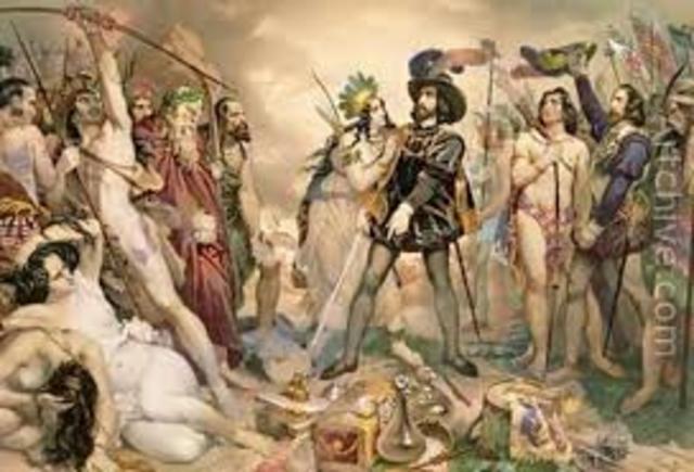 Conquest of Aztecs (Hernan Cortes)