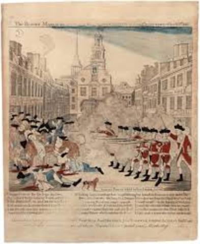 Boston Massacre (Paul Revere)