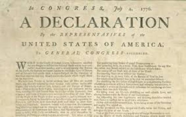 The Declaration of Independence (Thomas Jefferson)