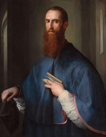 Pontormo, Ritratto di monsignor della Casa (?)1540-1543 circa, olio su tavola, Washington, National Gallery of Art
