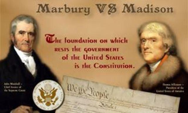 Election of 1800 (Marbury Vs. Madison)