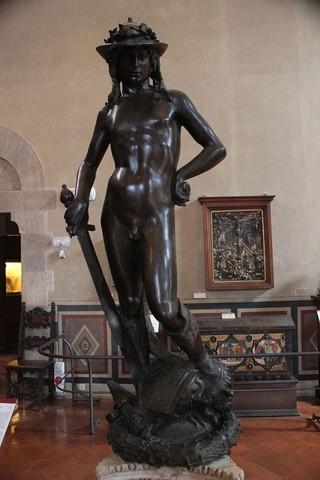 Donatello, David bronzeo,1440? Bargello,