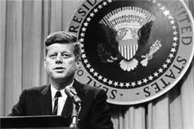 President Kennedy is elected
