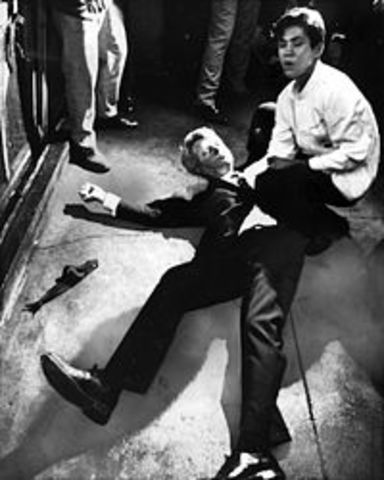 Robert Kennedy is assassinated