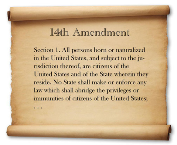 Former Slaves: Freedom Amendments (14th Amendment)