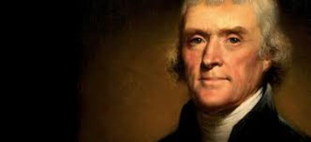 Election of 1800- Thomas Jefferson