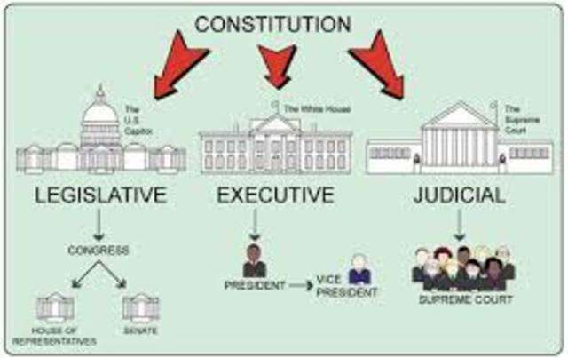 Three Branches (Executive, Legislative, Judicial)