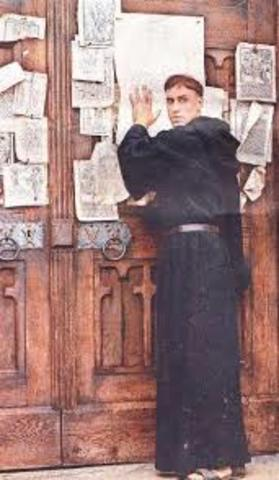 Martin Luther's 95 Theses of the Reformation Era