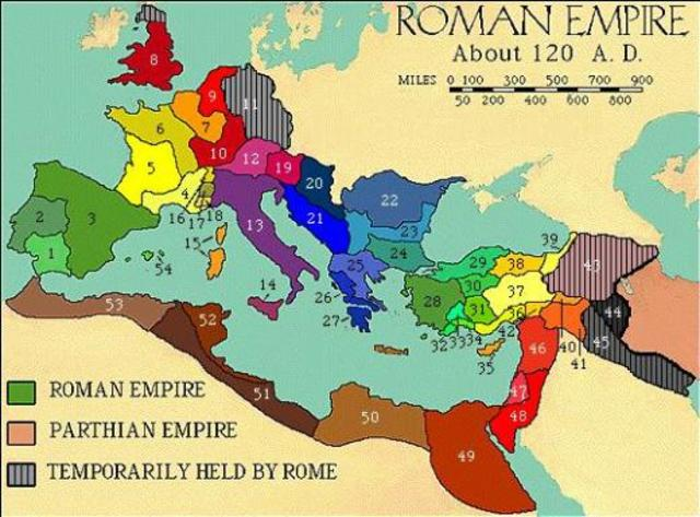 Conquest of Europe by the Roman