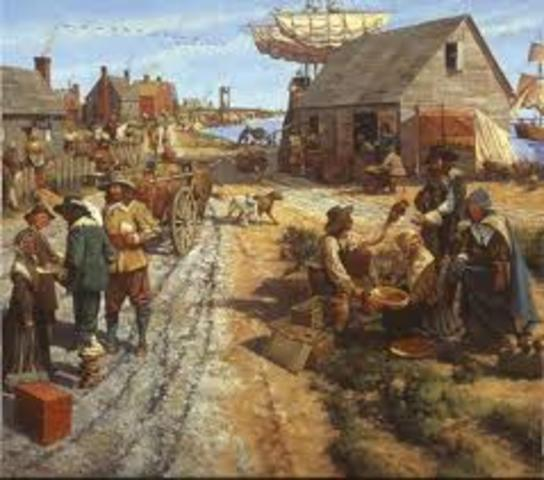 New England Colonies (Plymouth Colony)