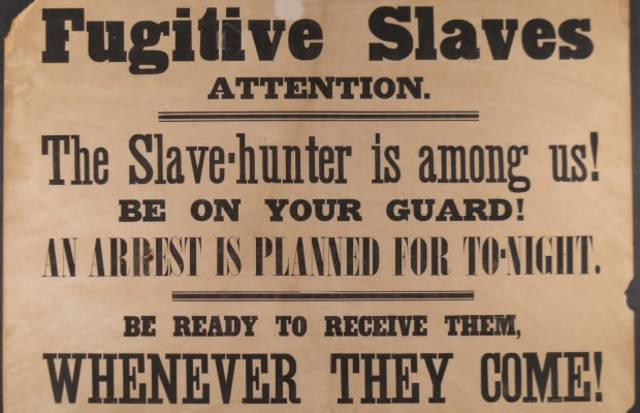 Slavery: Fugitive Slave Act of 1850