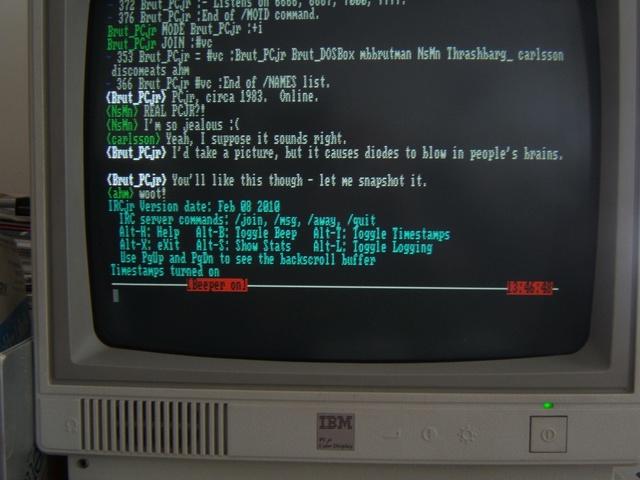 Народження IRC