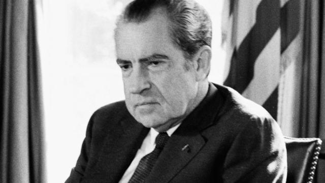 Richard Nixon is Elected
