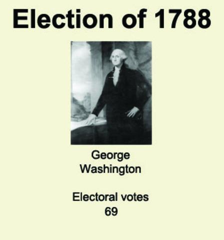 Election of 1788 (George Washington)