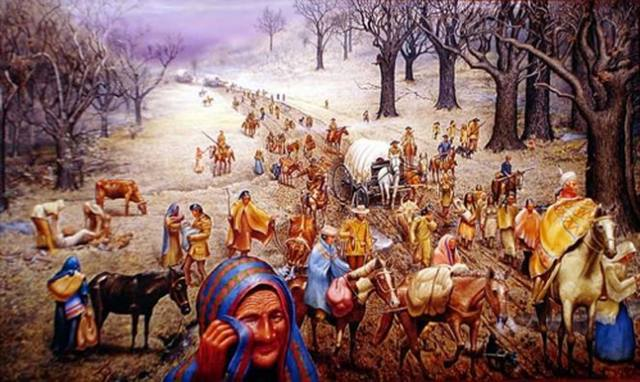 Native Americans: Cherokee (Trail of Tears 1838-1839)
