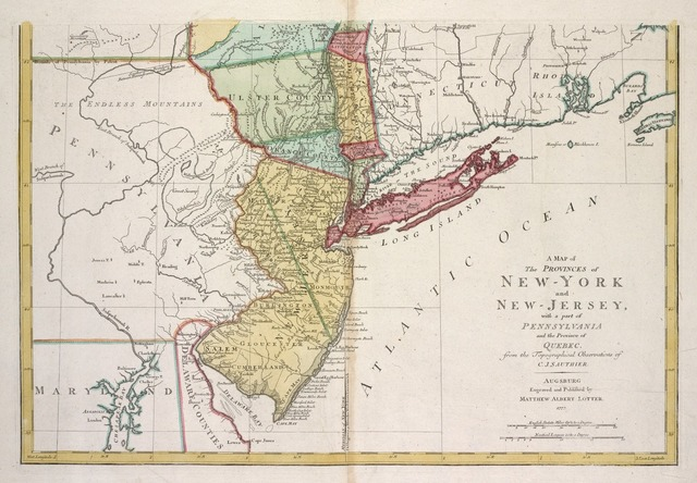 New Jersey / Province of New Jersey