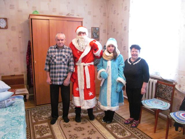 Новый Год в доме престарелых