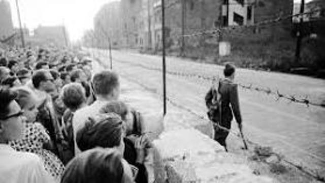 Berlin Wall Constructed