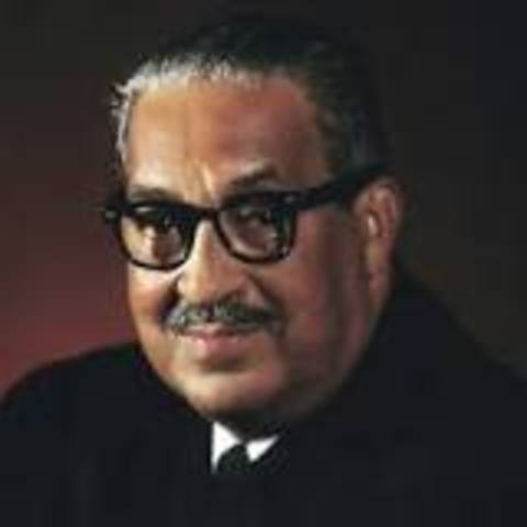 Thurgood Marshall nominated to Supreme Court